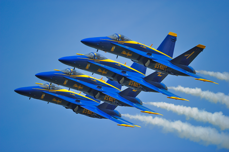 US Navy F-18 Blue Angels