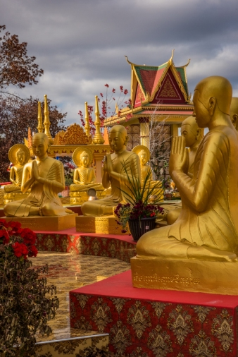 Buddhist Plaza Sculpture