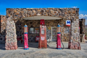 Gas Station Route 66