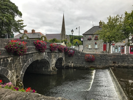 Bridge in Westport Ireland