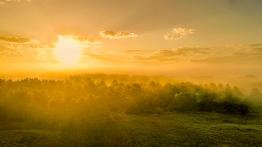 Sunrise Over Savanah