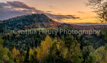 Moose Mountain Evening Fall
