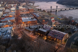 Stillwater from Above