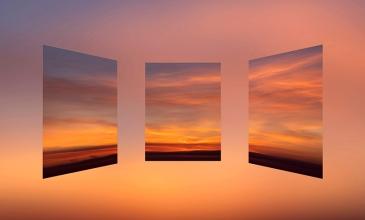 1. orange sunrise